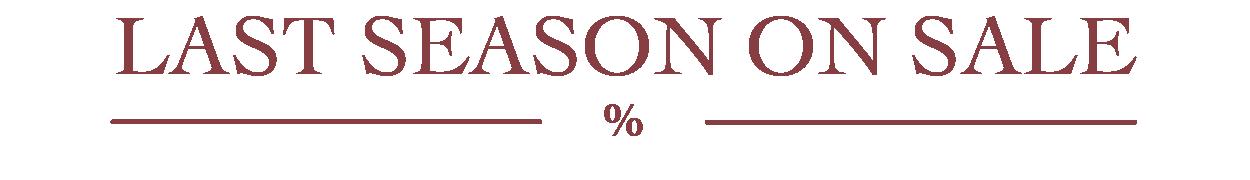 Last Season On Sale
